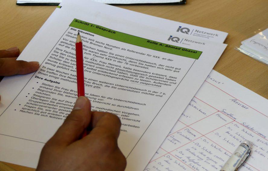 Unterrichtsmaterialien des berufsbezogenen Sprachkurses Deutsch für Lehrkräfte aus aller Welt, C1.