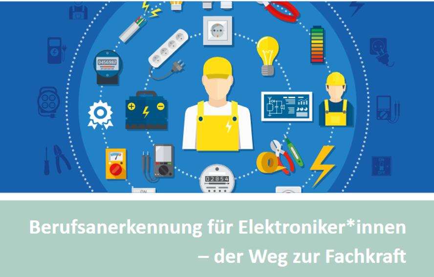 Cover IQ Themendossier: Berufsanerkennung Elektroniker:innen