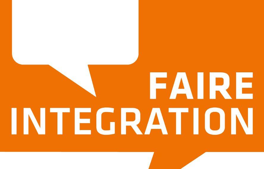 "Das Logo der Beratungsstelle ""Faire Integration"""